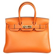 Hermes Birkin 30 Orange