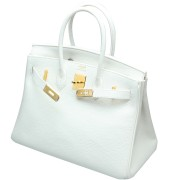 Hermes Birkin 30 White