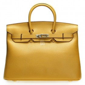 Сумка Hermes Birkin 35 Yellow