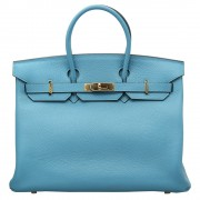 Hermes Birkin 35 Light Blue