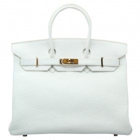 Сумка Hermes Birkin 35 White