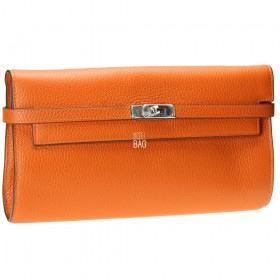 Kelly Style Clutch Orange