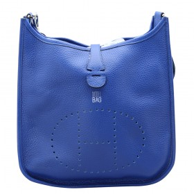 Сумка Hermes Evelyne Dark Bluemarine