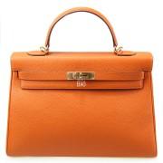 Hermes Kelly 35 Orange