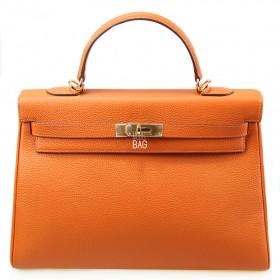 Сумка Hermes Kelly 35 Orange