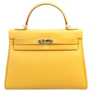 Hermes Kelly 32 Yellow