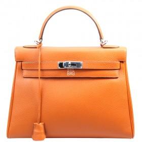 Сумка Hermes Kelly 32 Orange