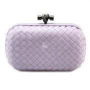 Clutch Cnot Leather Light Violet