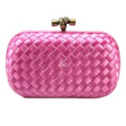 Clutch Cnot Satin Pink