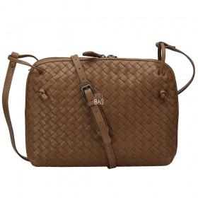 Сумка Bottega Veneta Intrecciato Nappa Messenger Bag Deep Camel