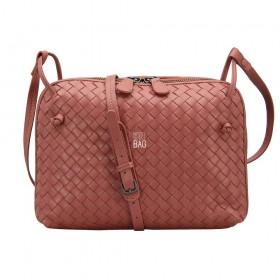 Сумка Bottega Veneta Intrecciato Nappa Messenger Bag Terracot