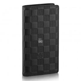 Кошелёк Louis Vuitton Damier Infini Brazza Wallet N63010