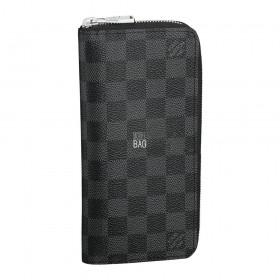 Кошелёк Louis Vuitton Damier Graphite Zippy Vertical Wallet N63095