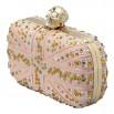 Alexander Mcqueen Pink BOX Clutch
