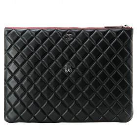 Папка Chanel Case Apid Sheep leather Black