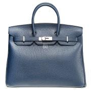 Hermes Birkin 35 Blue