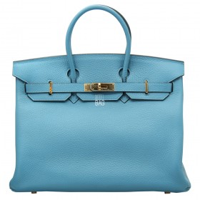 Сумка Hermes Birkin 35 Light Blue