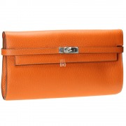 Kelly Style Clutch Orange