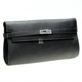 Kelly Style Clutch Black