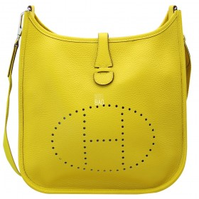 Сумка Hermes Evelyne Lemon