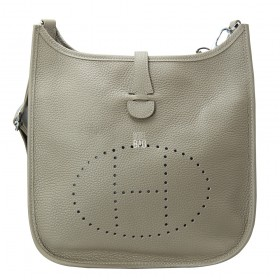 Сумка Hermes Evelyne Grey