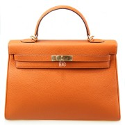 Hermes Kelly 35 Orange