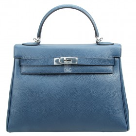 Сумка Hermes Kelly 32 Blue