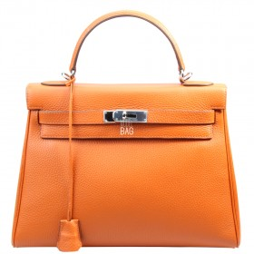 Сумка Hermes Kelly 32 Orange