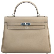 Hermes Kelly 35 Grey