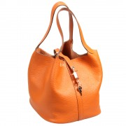 Hermes Picotin Orange