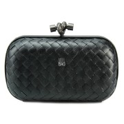 Clutch Cnot Leather Black