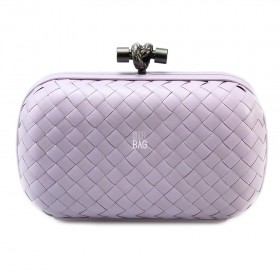Клатч Bottega Veneta Cnot Leather Light Violet