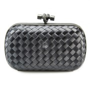 Clutch Cnot Satin Dark Grey