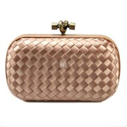 Clutch Cnot Satin Peach