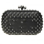 Clutch Cnot Leather Black Metal Beats