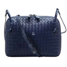Сумка Bottega Veneta Intrecciato Nappa Messenger Bag Blue