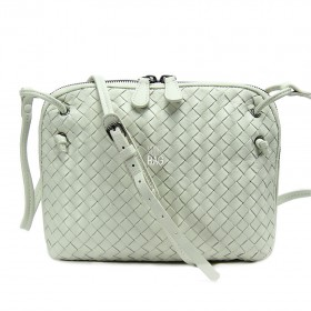 Сумка Bottega Veneta Intrecciato Nappa Messenger Bag Milk