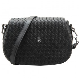 Сумка Bottega Veneta Intrecciato Cross Body Bag Black