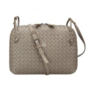 Сумка Bottega Veneta Intrecciato Nappa Messenger Bag Beige