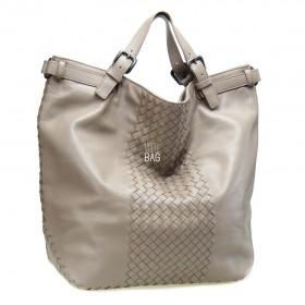 Сумка Bottega Veneta Intrecciato Tote Bag Beige