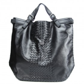 Сумка Bottega Veneta Intrecciato Tote Bag Black