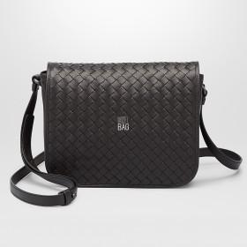 Сумка Bottega Veneta Intrecciato Cross Body Bag Black