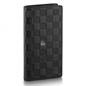 Кошелёк Louis Vuitton Damier Infini Brazza Wallet N63010