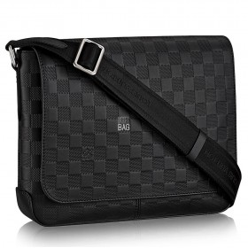 Сумка Луи Витон Damier Infini District PM N41286