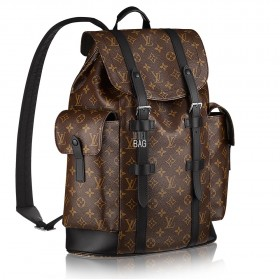 Рюкзак Louis Vuitton Monogram Macassar Christopher PM M43735