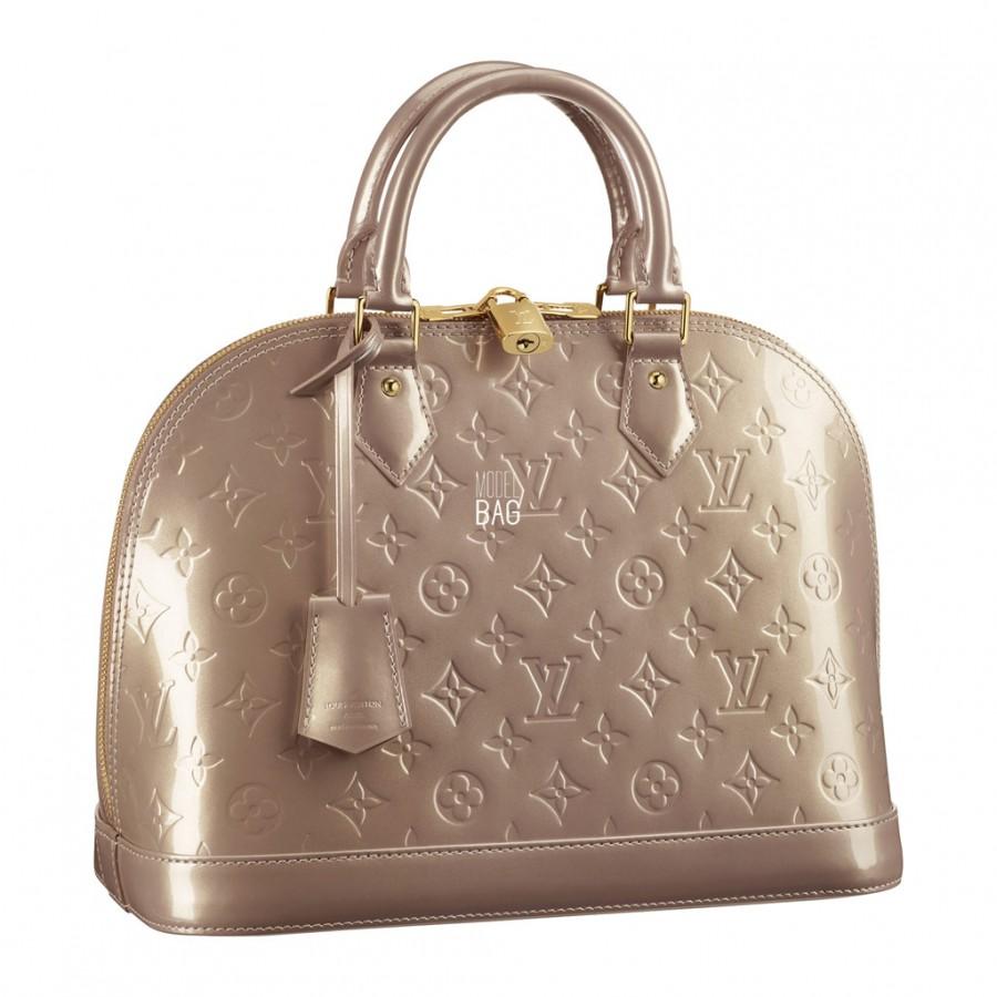 сумка Louis Vuitton Monogram Vernis : Louis vuitton vernis monogram alma pm m