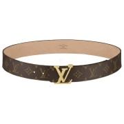 Ремень LV Initials Monogram canvas Belt