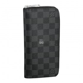 Кошелёк Louis Vuitton Damier Graphite Zippy Vertical Wallet N63095