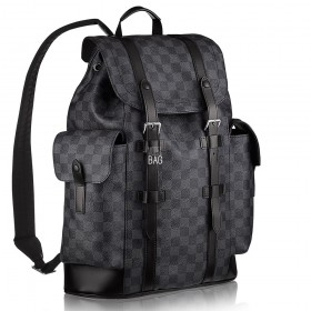 Рюкзак Louis Vuitton Damier Graphite Christopher PM N41379